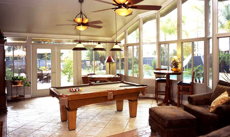 Sunroom Conservatory All Season Room C Thru Sunrooms