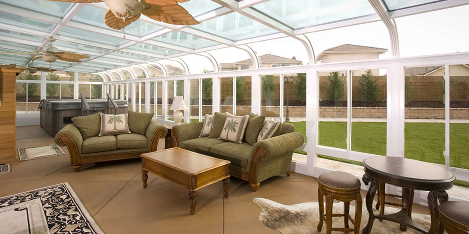 Sunroom Conservatory All Season Room C Thru Sunrooms