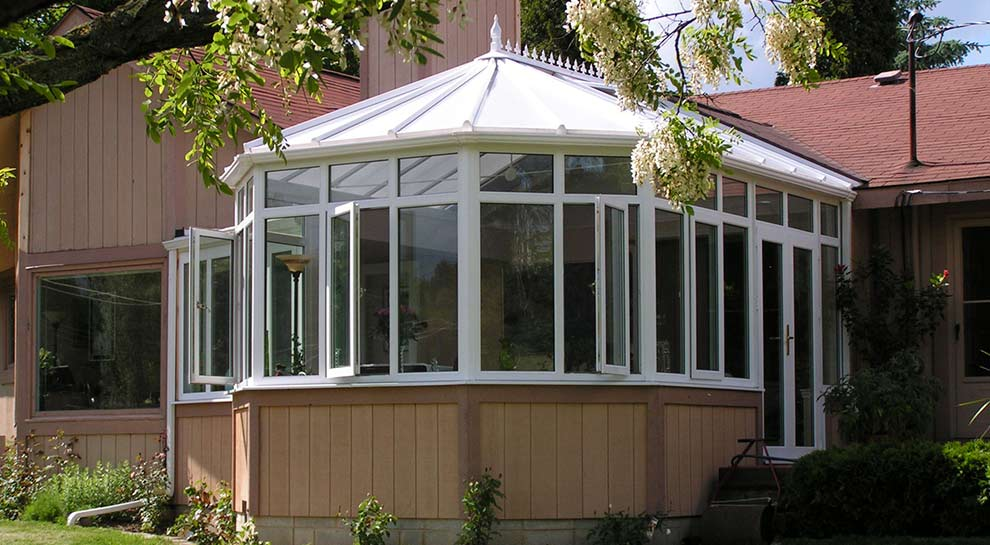 Photo of premium conservatory